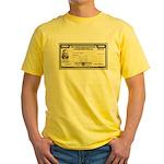 Defense Bonds Yellow T-Shirt