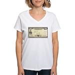 Defense Bonds Women's V-Neck T-Shirt