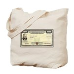 Defense Bonds Tote Bag
