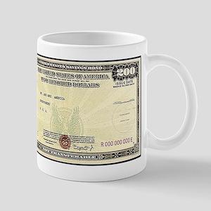 Defense Bonds Mug