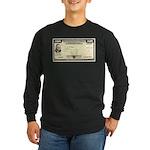 Defense Bonds Long Sleeve Dark T-Shirt