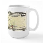 Defense Bonds Large Mug