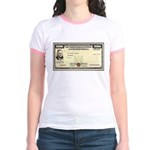 Defense Bonds Jr. Ringer T-Shirt