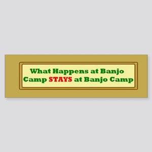 Bumper Sticker Banjo Camp