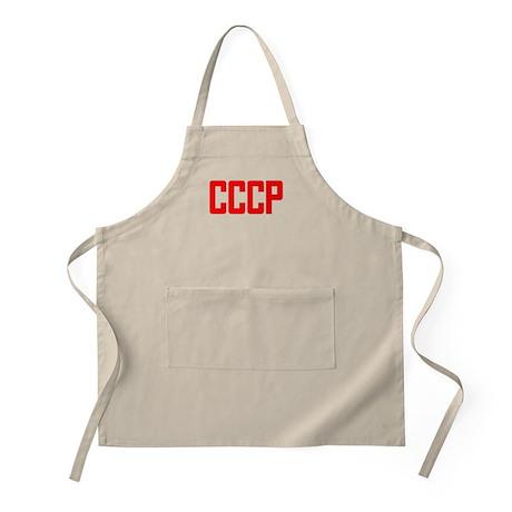 CCCP Soviet USSR BBQ Apron