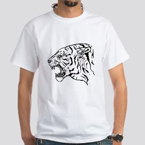Tiger (White T-Shirt)