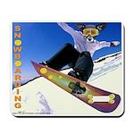 Snowboarding Mousepad