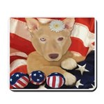 Patriotic Pup Mousepad
