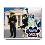 Paw & Order Mousepad