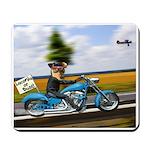Pup Rider Mousepad