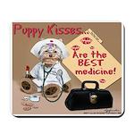 Puppy Kisses Mousepad