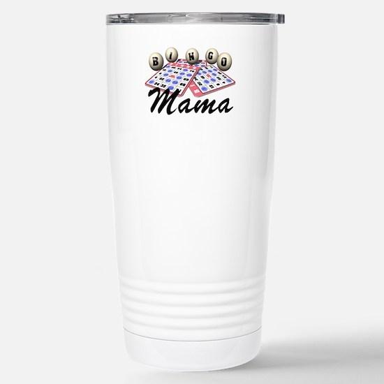 Bingo Mama Stainless Steel Travel Mug