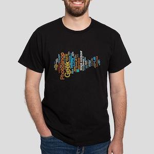 Photoshop Geek Dark T-Shirt