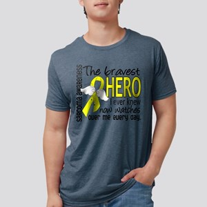 Bravest Hero I Knew Sarcoma Gifts T-Shirt