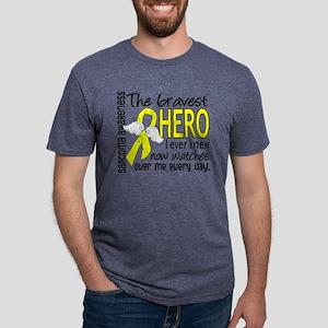 Bravest Hero I Knew Sarcoma Gifts T-Shirt