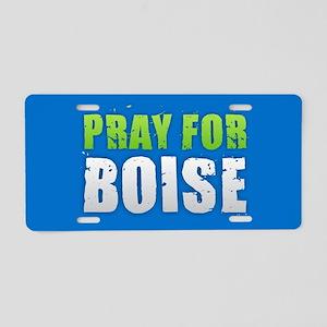 Pray for Boise Aluminum License Plate