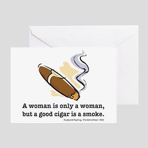 Kipling's Cigar Greeting Card