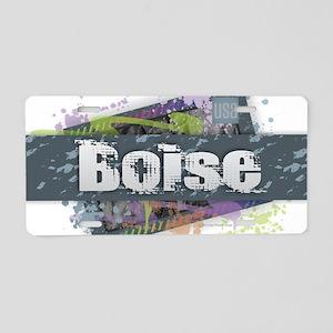 Boise Aluminum License Plate