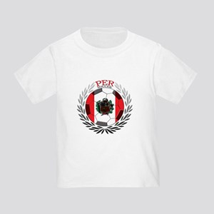 Peru Soccer Toddler T-Shirt