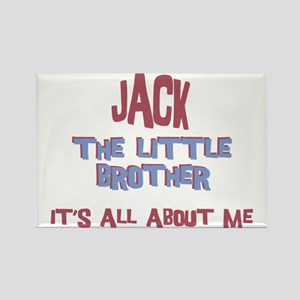 Jack - All About Brother Rectangle Magnet