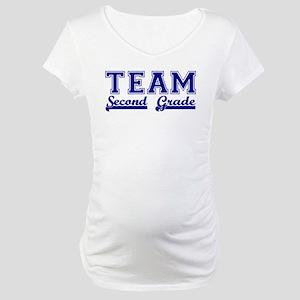 Team Second Grade Maternity T-Shirt