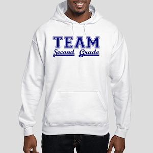 Team Second Grade Hooded Sweatshirt
