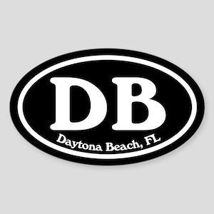 Daytona Beach DB Euro Oval Oval Sticker