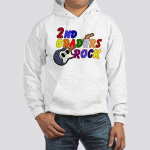 2nd Graders Rock Hooded Sweatshirt
