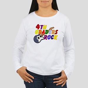 4th Graders Rock Women's Long Sleeve T-Shirt