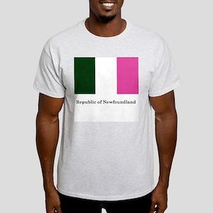 Ash Grey T-Shirt - Republic of Newfoundland