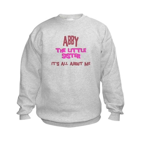 Abby - All About Sister Kids Sweatshirt