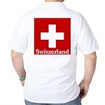 Swiss Cross-2 Golf Shirt