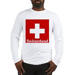 Swiss Cross-2 Long Sleeve T-Shirt