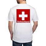 Swiss Cross-2 Fitted T-Shirt