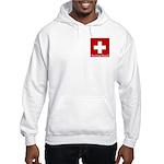 Swiss Cross-2 Hooded Sweatshirt