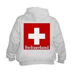 Swiss Cross-2 Kids Hoodie