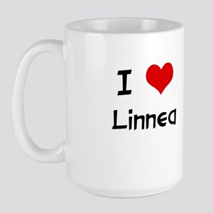 I LOVE LINNEA Large Mug