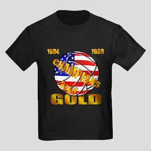 U.S. Volleyball Kids Dark T-Shirt