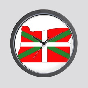Oregon Basque Wall Clock