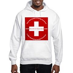 Swiss Cross/Peace Hoodie