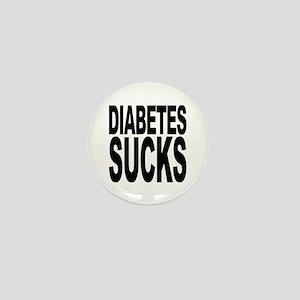 Diabetes Sucks Mini Button