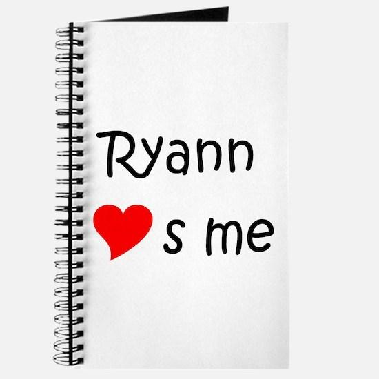 Funny Ryann Journal
