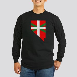 Nevada Basque Long Sleeve Dark T-Shirt