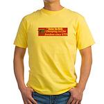 Dumping Tea 4 Freedom Yellow T-Shirt