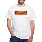 Dumping Tea 4 Freedom White T-Shirt
