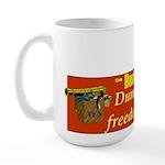 Dumping Tea 4 Freedom Large Mug