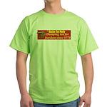 Dumping Tea 4 Freedom Green T-Shirt