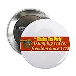 "Dumping Tea 4 Freedom 2.25"" Button"
