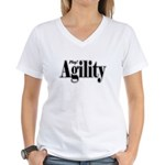 Play! Agility Women's V-Neck T-Shirt