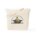 Humorous Jesus Tote Bag